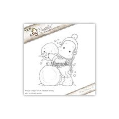 Magnolia Aspen Holidays Cling Stempel Me and My Snowman www.papercrafts.ch