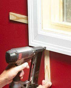 How to Install Window Trim - Article Tips And Tricks, Home Renovation, Home Remodeling, The Family Handyman, Home Design, Design Design, Trim Carpentry, Window Casing, Window Trims
