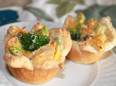 I successfully made a healthier, gluten free version of these Cheesy Chicken Pot Pie Cups using Bisquick Gluten Free Mix, Pacific Natural Foods Organic Cream Of Chicken Condensed Soup, Fresh Organic Veggies (Broccoli and Carrots) and Nutiva Organic Extra Virgin Coconut Oil (in place of shortening); Baked biscuits for a couple minutes in oven before filling to help biscuits brown.  Thumbs up from the family.