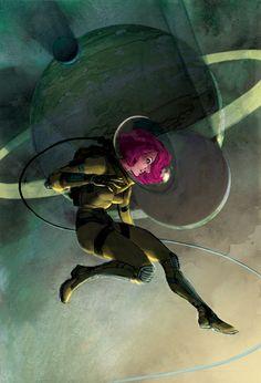 More women in spacesuits - Kurt Huggins