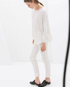 ASYMMETRIC T-SHIRT from Zara