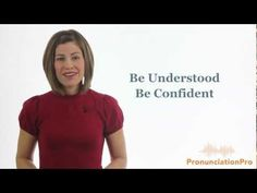 English Pronunciation - be understood and be confident