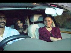 Shraddha Kapoor & Alia Bhatt together at success party of RUSTOM movie.