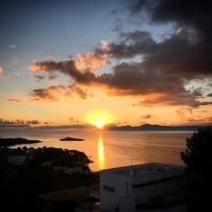 Our morning view  #mallorca #sunrise #holiday #love #spain #fun #morning