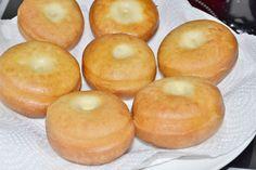 Šišky z kysnutého cesta Bagel, Doughnut, Peach, Bread, Fruit, Peaches, The Fruit, Prunus, Breads