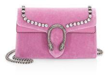 Gucci Velvet Crossbody Bag