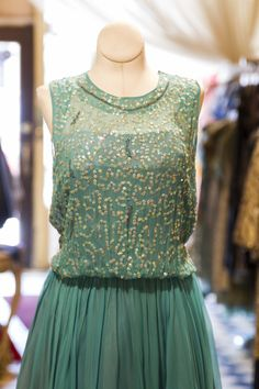 Cabaret Vintage - Vintage Ladies Sequined Dress, $225.00 (http://www.cabaretvintage.com/dresses/vintage-ladies-sequined-dress/)