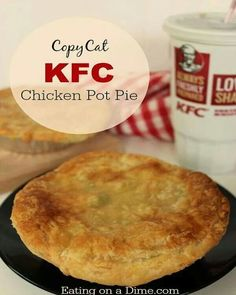 KFC chicken pot pie