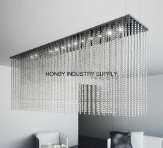 diy lighting with metal beads - Google Search