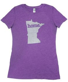 Want - Minnesota Home T-shirt Womens