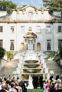 The Swan House Gardens in Atlanta is the perfect Southern wedding venue | Brides.com