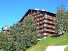 """Quille du Diable 33 - Apartment - NENDAZ - Switzerland - 386 CHF """"Quille du Diable apartment 45 on floor. Partly renovated in cosy furnishings: living/dining room with 1 pull-out bed pers. 2 x 90 cm, length 200 cm), cable TV and flat scr Pull Out Bed, Ski Chalet, Cosy, Real Estate, Cottage, Cabin, France, Flooring, Mansions"""