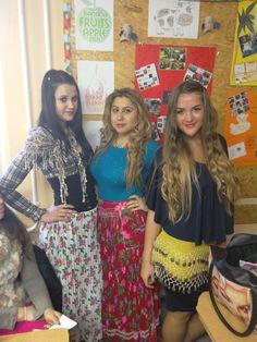 Girls preparing for gypsy dance Gypsy, Sequin Skirt, Sequins, Dance, Girls, Style, Fashion, Moda, Sequined Skirt