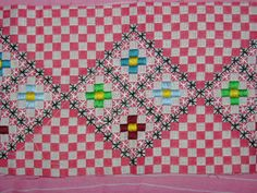 Embroidery Chess - Chess Embroidery - How To