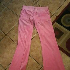 Juicy couture pants Pink juicy couture pants Pants Track Pants & Joggers