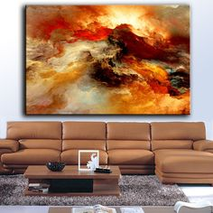 Living Room Art Stools - Large size Printing Oil Painting Wall painting abstract Wall Art Picture For Living Room painting no frame. Wall Art Pictures, Pictures To Paint, Oil Painting Abstract, Abstract Wall Art, Canvas Picture Walls, Psychedelic Space, Modern Art Prints, Canvas Art, Painting Canvas