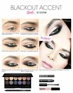 Sleek Storm Eyeshadow Palette - Makeup Shop