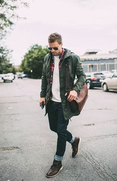 Winter street style inspiration Follow... | MenStyle1- Men's Style Blog