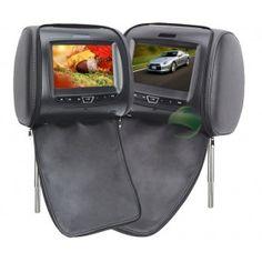 FM Game Headrest 7 inch Car DVD player (1 Pair)-1