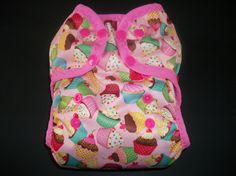 All In One AIO Cloth Diaper Infant Baby by PicklenoseCreations, $21.95