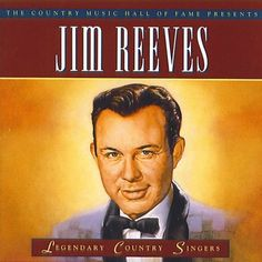 Jim Reeves: Legendary Country Singer with such a beautiful voice who sang wonderful songs Best Country Singers, Old Country Music, Country Western Singers, Country Music Videos, Country Music Stars, Country Artists, Country Guys, Classic Singers, Peace In The Valley