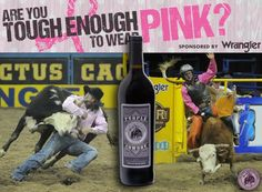 Purple Cowboy's support for breast cancer awareness and Tough Enough to Wear Pink was featured in the Argus Leader! Support pink, drink purple!