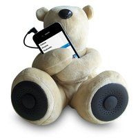 Teddy Bear Stereo Speakers - $35