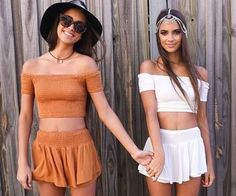 matching boho babes