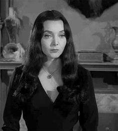 The Gypsy Astronaut : Photo The Addams Family Cast, Adams Family, Family Tv, Morticia Addams, Gomez And Morticia, Gifs, Caroline Jones, Charles Addams, Tv Movie