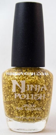 Ninja Polish - The Midas Touch, from the Gold Wasser collection
