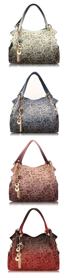 Retro Handbag /Shoulder Bag with Pendant