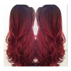 #ShareIG Good Morning Melted! @dougoconnell13 #colormelt #melted #redhair #redhead #redombre #redsombre #redbalayage #long #beautiful #full #tip #hairtips #colortips #publishedstylist #editoralstylist