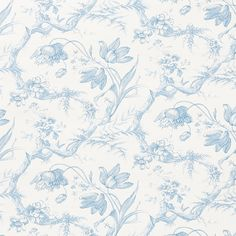 Rabbit Toile Wallpaper Wallpaper Toile Wallpaper