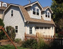 1000 images about garage on pinterest garage doors for Gambrel gable