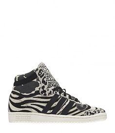 Sneakers Top Ten Hi Chalk/noir - ADIDAS