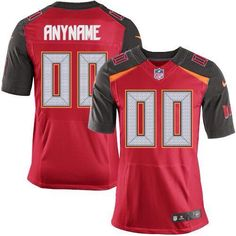 19c106013 Akeem Spence Men s Elite Red Jersey  Nike NFL Tampa Bay Buccaneers Home  97  Mike