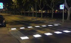 Tecnología para evitar atropellos, así es el paso de peatones del futuro
