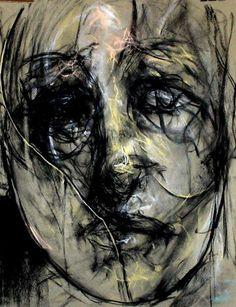 fusain - Tony Masschelein   Galerie d'art Arawak 21