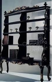 black gothic furniture~ shelves