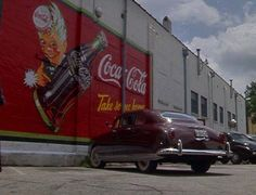 """1948 Hudson """"Driving Miss Daisy"""" Jessica Tandy, Driving Miss Daisy, Movie Cars, Great Love, Car Car, Good Movies, Coca Cola, Automobile, Stars"""