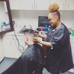 #icecoldwednesdays at RCG!  We had Ice Cold our barber come into the office and cut hair all day for reps who worked hard in the field and set the pace. Stay tuned for the finished products! http://ift.tt/21IlNuQ