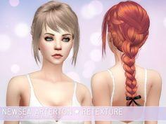 Aveira Sims 4: Newsea Arterton -hair retextured • Sims 4 Downloads