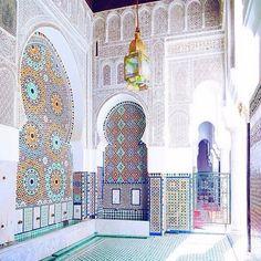 Morocco — Moroccan Architecture.