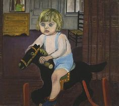 Hartley on the Rocking Horse by Alice Neel (1943)