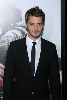 Fifty Shades of Grey cast   Luke Grimes   American Sniper movie premiere