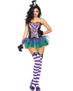 Tempting Mad Hatter Womens Costume | ALICE IN WONDERLAND