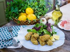 Founder of Dawn Russell is making a delicious seafood snack that serves Greek Recipes, Fish Recipes, Seafood Recipes, Healthy Recipes, Healthy Foods, Yummy Recipes, Fish Finger, Family Meals