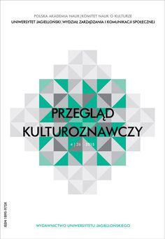 """Najnowszy """"Przegląd Kulturoznawczy"""" już dostępny!"""