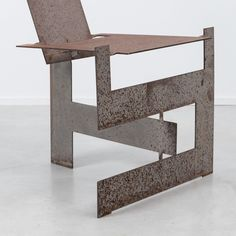 Ronen Kadushin-Flatveld chair, Open Design,2010, 6mm steel