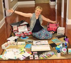 5 Things Every Planner Addict Should Own - Confessions of a Planner Addict .these items are also used for paper crafts. Planner Tips, Planner Pages, Happy Planner, 2015 Planner, Planner Stickers, Printable Planner, Printables, Planning And Organizing, Planner Organization